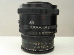 L'ottica 90mm