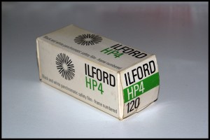 Ilford HP4 formato 120