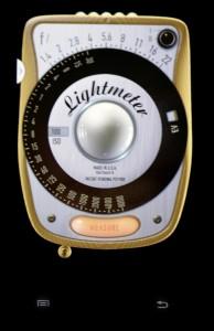 Lightmeter app