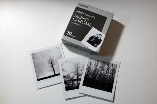 Instax square monochrome