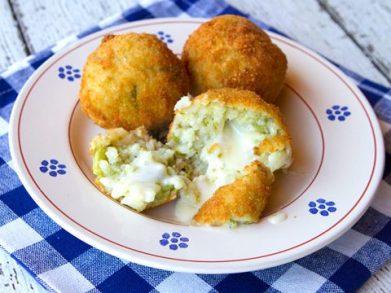 Asparagus Arancini Stuffed With Creamy Taleggio Cheese | Italian ...