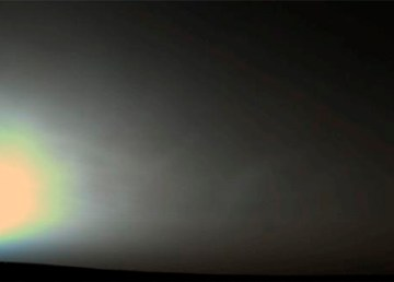 A Martian sunrise was captured in this Viking 2 Lander picture taken June 14, 1978, at the spacecraft's Utopia Planitia landing site. Image Credit: NASA/JPL