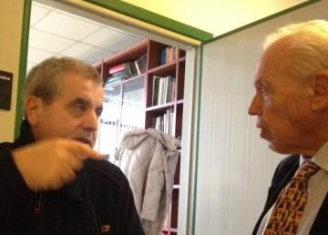Pierluigi Minganelli e Roberto Savio