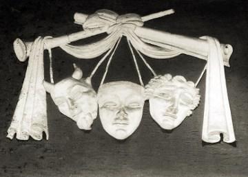 Maschere teatrali (fonte foto Pixabay)