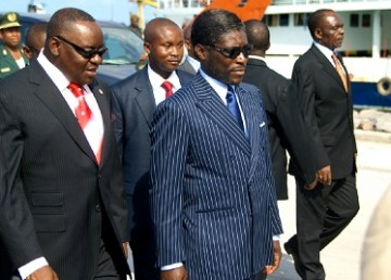 Minister Teodoro Nguema Obiang Mangue Inauguration of state of the art Airport in Annobon, Equatorial Guinea (fonte foto Flickr)