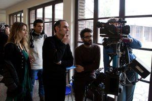 Sul set al Centro Sperimentale di Cinematografia