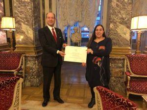 Ambasciatore Guariglia e Mercedes Arriaga Florez