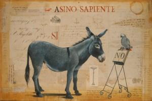 Opera di Stefano Faravelli, L'Asino Sapiente