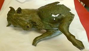 Il Toro cozzante del Museo Archeologico Nazionale della Sibaritide al Museo Egizio di Torino - 350X200