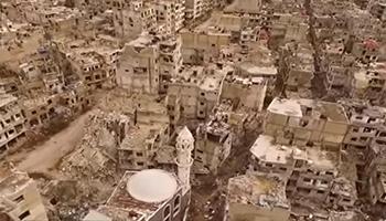 SIRIA: VIDEO REALIZZATO CON UN DRONE MOSTRA LA DEVASTAZIONE DI HOMS
