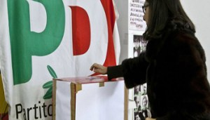 Foto Roberto Monaldo / LaPresse30-12-2012 RomaPoliticaPD - Primarie dei parlamentariNella foto Seggio elettoralePhoto Roberto Monaldo / LaPresse30-12-2012 Rome (Italy)Primary elections to elect the parliamentarians of the Democratic PartyIn the photo Polling station