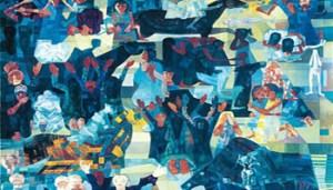 """""""Guerra"""", opera di Candido Portinari Grande Artista Brasiliano"""