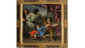 Anton Domenico Gabbiani, Quattro Servitori della Corte dei Medici