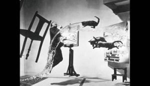 Il Dalí Atomico, fotografia di Philippe Halsman (1948)