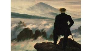 Caspar David Friedrich, Le Voyageur contemplant une mer de nuages,
