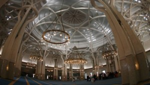Panoramica Interno della Grande Moschea Di Roma- www6-ansa-it - 350X200