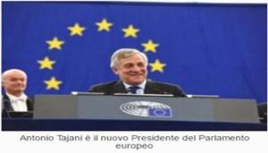 Antonio Tajani - Il Nuovo Presidente del Parlamento Europeo - www-europarl-europa-eu - Cattura - 350X200