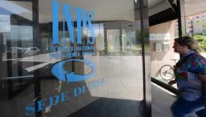 La sede dell' Inps a Pontedera (Pisa). ANSA/STRINGER
