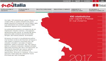 """<font color=""""#FF0000""""> NOI ITALIA. 100 STATISTICHE PER CAPIRE IL PAESE IN CUI VIVIAMO </font>"""