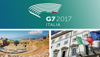Al  G7  di Taormina  i leader mondiali divisi su ambiente e commercio internazionale