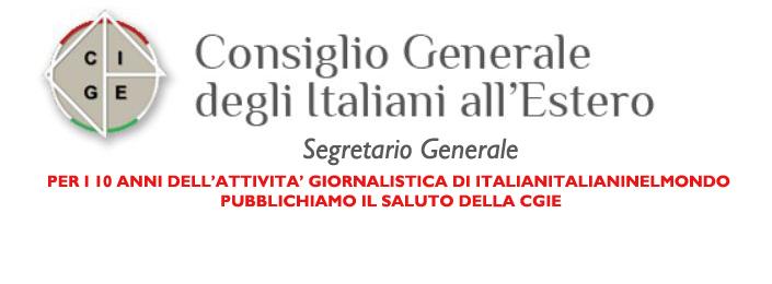 CGIE –  Segretario Generale
