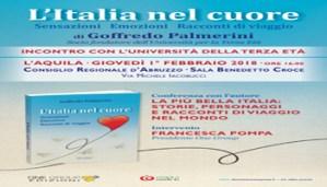 Goffredo Palmerini all''UNITERZAETA' Dell'Aquila, con l'Italia nel Cuore