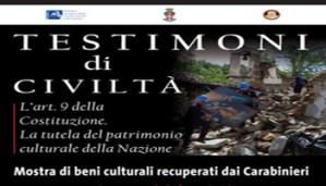 TESTIMONI DICIVILTÀ – L'art. 9 della Costituzione. La tutela del patrimonio culturale della Nazione