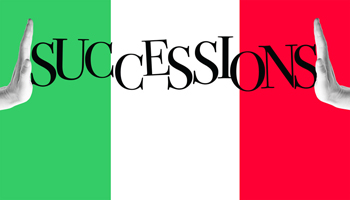 Successions April 10 to May 6, 2018