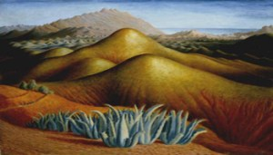 Spanish Landscape with Mountains circa 1924 Dora Carrington 1893-1932 Bequeathed by Frances Partridge 2004 http://www.tate.org.uk/art/work/T11896