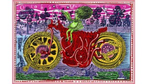 """Royal Academy Of Arts: Grayson Perry RA coordinates the biggest, brightest and most colourful Summer Exhibition yet, in our 250th annual celebration of """"art made now"""""""