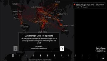 Dove vanno i 25,4 milioni di rifugiati? Gli spostamenti negli ultimi 15 anni