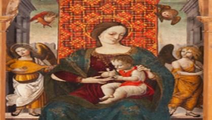 Goffredo Palmerini - Cola dell'Amatrice, Ttrittico di Piagge, Ascoli Piceno, Pinacoteca Civica - Goffredo Palmerini - 350X200