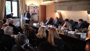 Il ministro Bussetti, Battiston e il patriarca Sako presentano il Meeting a Roma