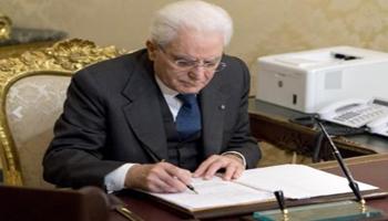 Mattarella promulga decreto sicurezza