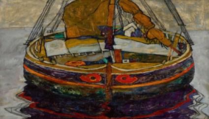 Sotheby's - Wanda Rotelli Tarpino - Egon Schiele, Triestiner Fischerboot (Trieste Fishing Boat), est. £6-8 million - Sotheby's - Wanda Rotelli Tarpino - 350X200