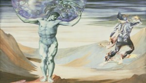 Opera di Edward Coley Burne-Jones, Atlas Turned To Stone