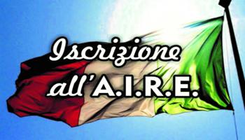 Italiani nel mondo, modifica della data di decorrenza dell'iscrizione all'AIRE