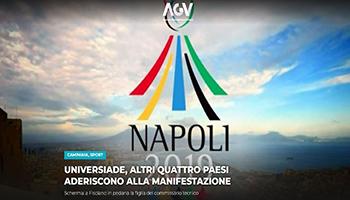 Napoli 2019: Universidade, altri quattro paesi aderiscono alla manifestazione