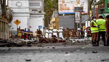 Sri Lanka, Isis rivendica