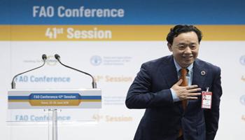 Il cinese Qu Dongyu eletto Direttore Generale della FAO