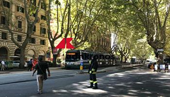 Roma, falso allarme bomba per pacco sospetto in viale Trastevere