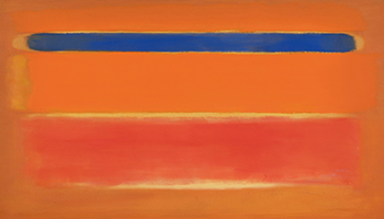 Sotheby's: Mark Rothko's 'Blue Over Red' to Highlight Sotheby's Contemporary Art Auctions This November in NY