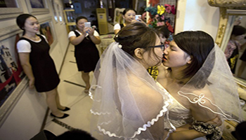 Gli attivisti LGBT in Cina cercano di cambiare il codice civile matrimoniale