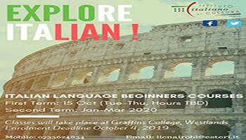 Italian Language Beginner Course