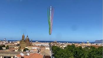 Ministero degli Affari Esteri – Farnesina: Un Tour delle Frecce Tricolori nei cieli delle città d'Italia