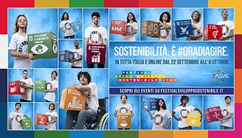 #ORADIAGIRE: al via la campagna dell'ASviS per un'azione concreta sull'Agenda 2030