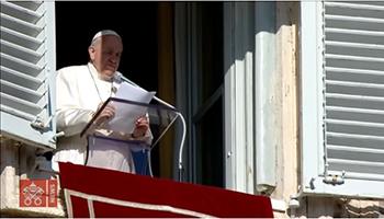 Angelus Papa: troppi cristiani dalla faccia da funerale
