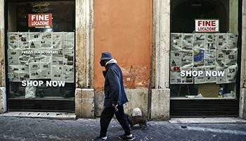 Roma senza negozi, nel 2020 persi 40.000 posti di lavoro. E nel 2021 raffica di chiusure