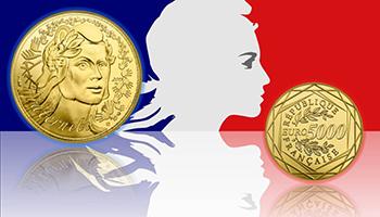Francia, raddoppiate le vendite di monete d'oro in un anno