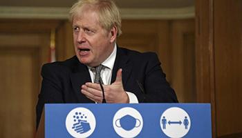 Covid Gb, Johnson: per ora niente turismo verso Ue e Italia